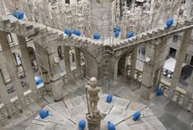 #CrackingArt | Duomo di Milano / October 8 – 13, 2012 | Cracking Art installation @ Milan's Cathedral, first contemporary art installation on the terraces of the Duomo for the #REgeneration project of the Madonnina Spire, Milan (Italy)