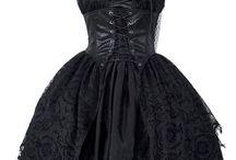 vestidos emo.gotic.steampunk