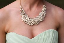 Bridal Statement Jewelry / Bridal wedding jewelry and accessory inspiration photos from Shalese Danielle, a Richmond VA wedding photographer.