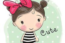bonecas ilustração