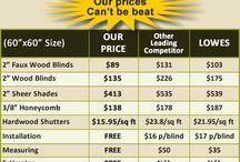Discount Plantation Shutters In San Diego CA