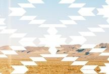 ___aztec-ish___ / Aztec print pattern art fashion