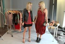 StyleCaster Blogger Style Off Nighttime Looks / Lisa Dengler and Jessica Sturdy style their favorite Brazilian Footwear nighttime looks with StyleCaster