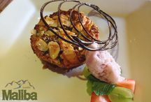 Maliba Gourmet Meals / A taste of the delicious meals you will indulge in at Maliba Lodge.