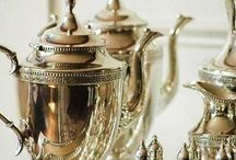 ANTIQUE SILVER / Antique pieces of silverware from various countries. / by Vidusha Mehta