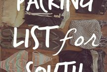 Packing list for backpacking Southeast Asia!