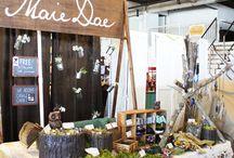State Fair IDEAS board set-up