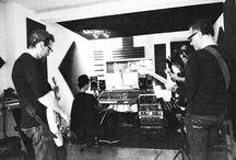 Studio La Chocolaterie / Yeallow @ Studio la Chocolaterie to record its new EP.