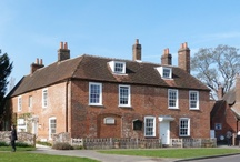 """Jane Austen's House / Now the Jane Austen's House Museum, this was the home in Hampshire, where she revised or wrote her major works.Although technically it was never """"her"""" home legally, the peace and routine Jane Austen found there afforded her great artistic freedom and productivity"""