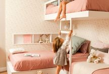 Shared rooms / Double the fun for shared bedrooms. Here are some great ways to share a bedroom for kids