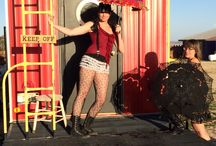 Parasols at Burning Man / Inspired outfits for the Burners!