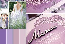 Invitations - Purple & Blues / Purple & Blue wedding invitations