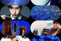 Kpop&Colours / 100% mine / made by me