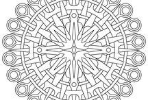 Mandalas and colouring