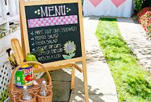 You can plan a pretty picnic... / Pack Food. Take it to another location. Enjoy it.