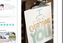 Blog Design Inspiration / by Sarah Ward