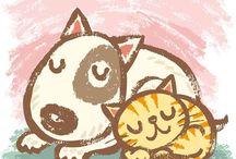 koty do narysowania 3