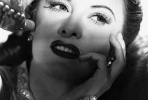 1946 Make Up, Fashion, Beauty / Make Up examples, hairstyle, fashion and beauty from 1945's