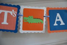 Gator Baby Showers / Welcome your little Gator with style!