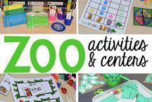 pre-school: zoo