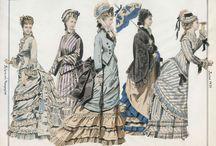 1870s - fashion plates