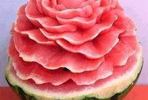 Criatividade com frutas