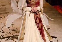 Lady wedding wear