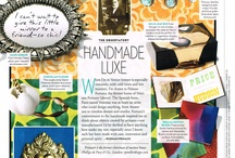 """DEPARTURES: Handmade Luxe / DEPARTURES Holiday Issue 2012--from The Observatory """"HANDMADE LUXE""""--Designer, Rodman Primack shows us a few of his favorite handmade objects created by artisans from around the world. All are perfect holiday gifts!"""