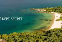Nkwichi / Nkwichi, a halcyon paradise hidden on the pristine Mozambican shores of Lake Malawi.