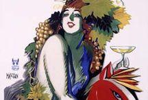 Poster - Italy - Mauzan / Posters by Italian graphic designer Achille Luciano Mauzan (1883 - 1952)