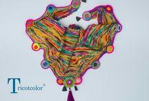 вязание шарф шаль