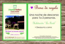 Bonos de regalo MonteMadero Casa Hotel, Cota, Cundinamarca, Colombia. / El regalo perfecto para esta Navidad. #Regala experiencias. Personalizamos tu bono.