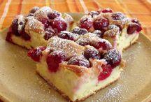 prăjituri cu fructe