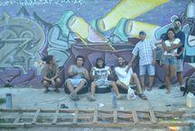 Rua Pintura ao ar livre / Street Art graffiti