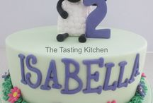 Shaun the Sheep Bday Cake