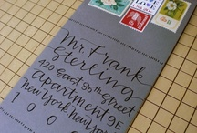 You got mail... / to recieve or send a handwritten letter or parcel is one of life's simple pleasures