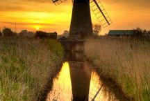 The Norfolk Broads / The beautiful scenery available along the Norfolk Broads!
