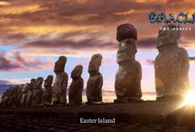 Easter Island / Navel of the world...and subject in Oracle Series book two, Fire Island!