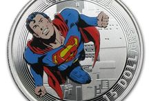 Superheroes / It's a bird, It's a plane, It's on a coin! / by APMEX