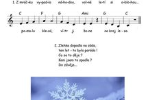 noty - zima