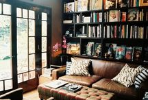 Dream interiors / As you will see, my dream home revolves entirely around suitable storage for my vast collection of paperbacks...