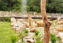Wasserspiele Garten