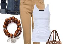Fashion tan accessories