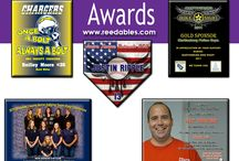 Awards & Plaques / Contact us about making an award or plaque for you. info@reedables.com
