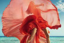 long dress in da wind