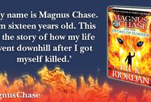Magnus Chase & The Sword of Asgard