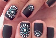 nail  art  (short nails)
