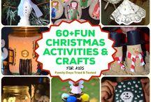 FUN CHRISTMAS ACTIVITIES & CRAFTS FOR KIDS
