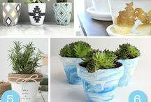 Pots art ideas