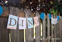 Dinosaur Party / Dinosaur Party   Ideas and pictures